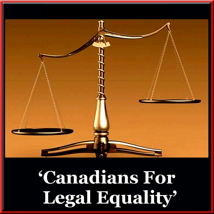 Canadians For Legal Equality, 'The Strange Case of Canadian 'Legal Equality' POST, 800x800 JPEG