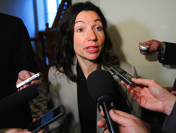 Martine Ouellet - PQ (Photo--SIMON CLARK-JOURNAL DE QUEBEC)