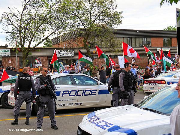 JDL protest -- Palestine-House